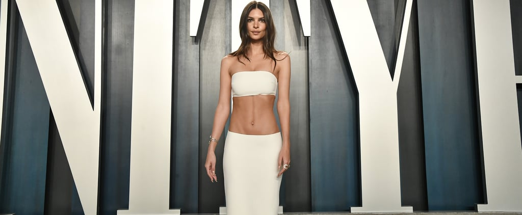 Emily Ratajkowski's Gown at Vanity Fair Oscars Party 2020