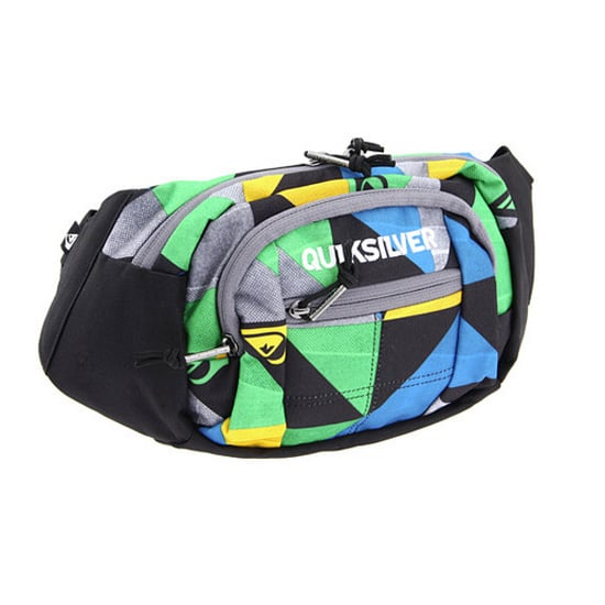 One of the biggest of the bunch, this Quiksilver Traveler ($22) comes in a geometric print and has tons of different compartments to store all your goods.