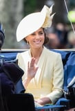 Kate Middleton's Yellow Outfit Added Some Much-Needed Sunshine to Trooping the Colour