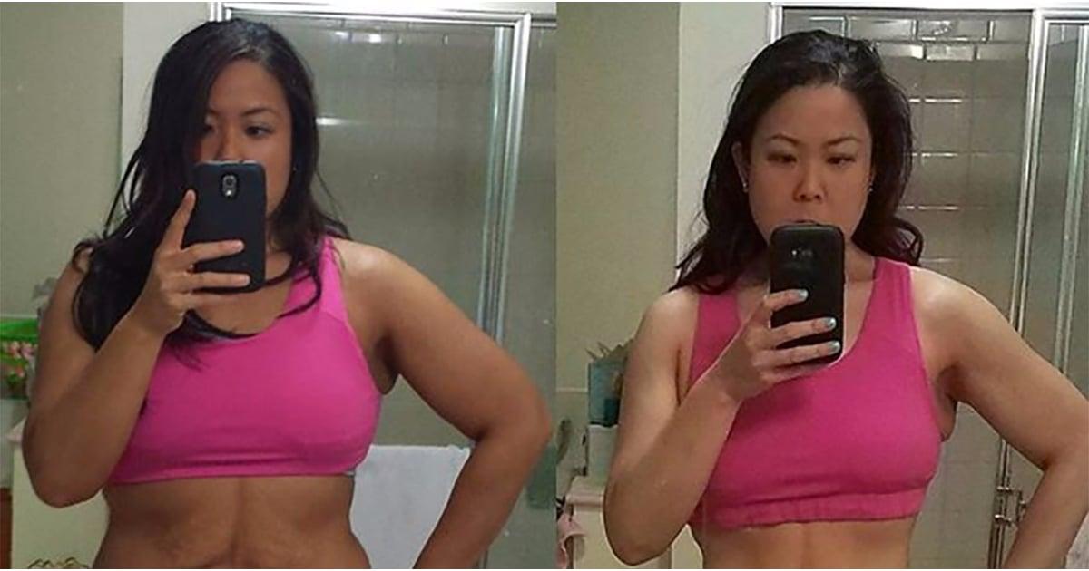 vegan before and after weight loss instagram popsugar. Black Bedroom Furniture Sets. Home Design Ideas