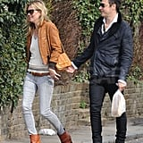 Kate Moss and Jamie Hince in London Pictures