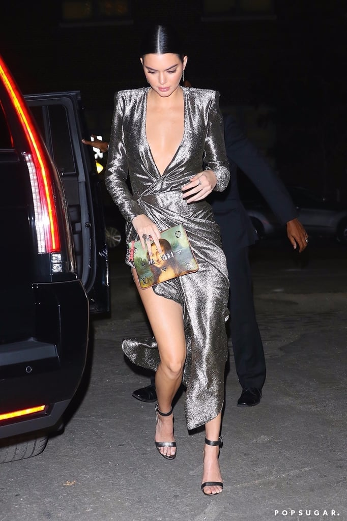 Kendall Jenner Silver Redemption Dress