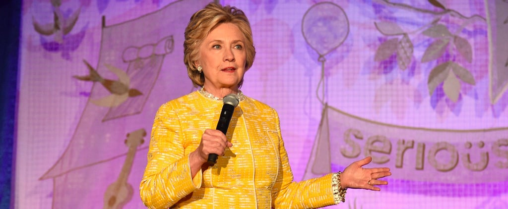 Hillary Clinton's Bright Coat Is a Cheery Distraction From Everything Else