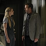 Jennifer Morrison and Hugh Laurie on House. Photo courtesy of Fox