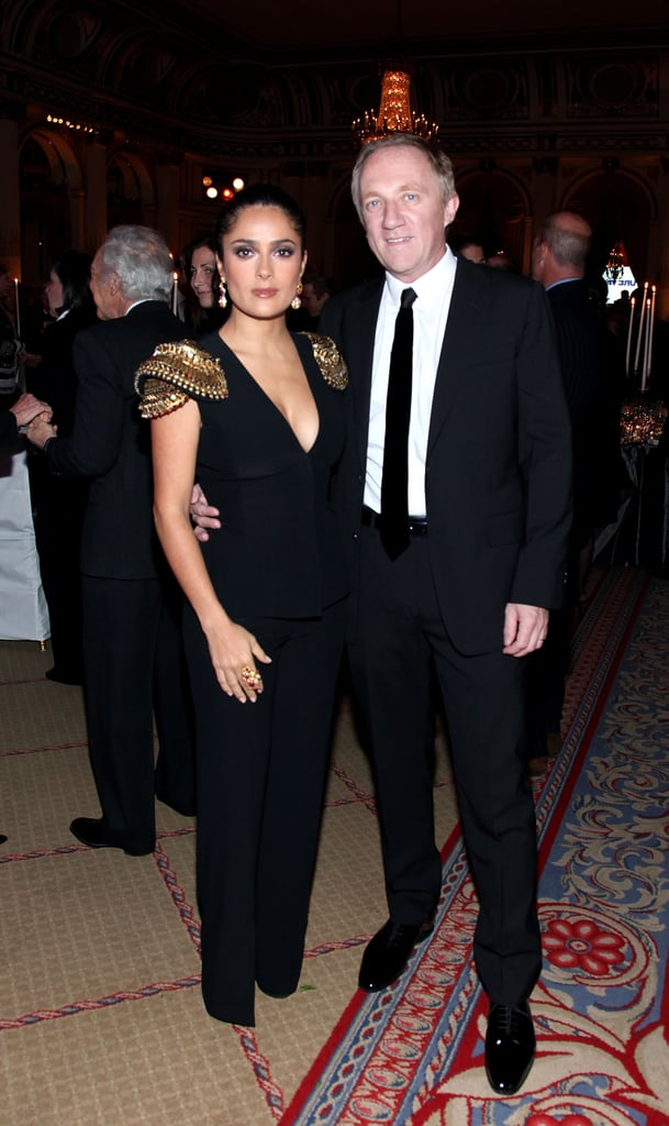 Salma Hayek at Women's Wear Daily Dinner