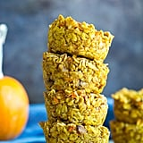 Healthy Pumpkin and Carrot Baked Oatmeal Cups