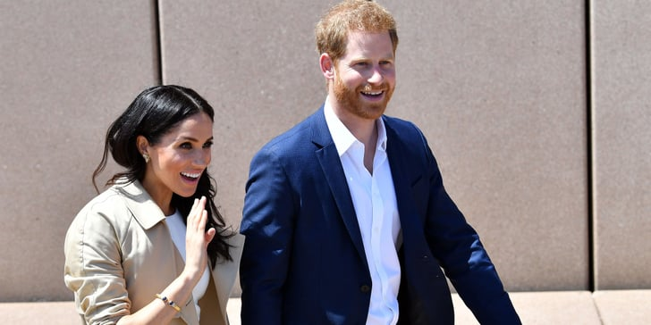 Aw! Prince Harry Breaks Royal Protocol to Take a Selfie of Meghan With a Lookali...
