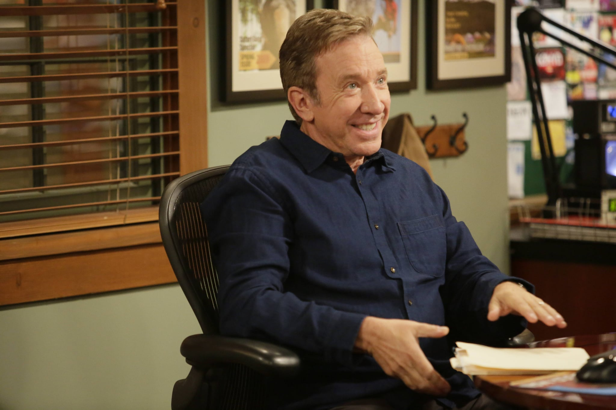 LAST MAN STANDING:  Tim Allen in LAST MAN STANDING on FOX.  2018 Fox Broadcasting Co.  Cr:  FOX