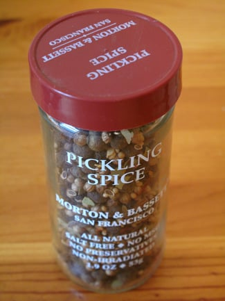 What's in Pickling Spice?