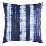 Shabori Striped Indigo Pillow