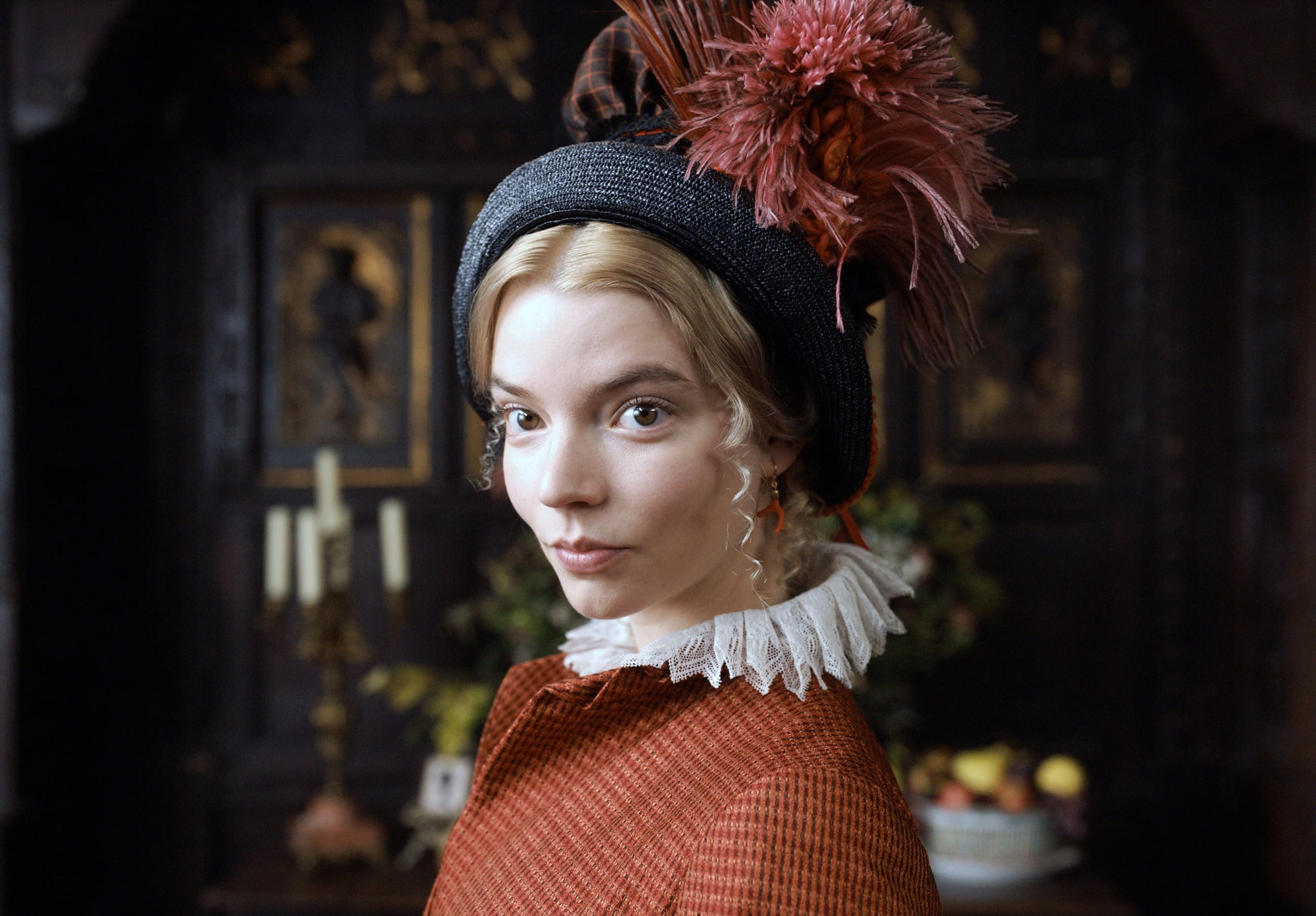 EMMA, Anya Taylor-Joy as Emma Woodhouse, 2020.  Focus Features / courtesy Everett Collection