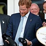 When Prince Harry Was Gifted Custom Rugby Cleats