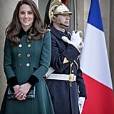March 2017 Kate Middleton's Outfits on Paris Royal Tour