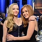 At the SAG Awards, Amanda Seyfried threw her arm around Isla Fisher.