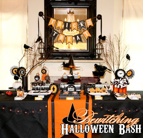10 Halloween Party Printables For an All Hallows' Eve Bash