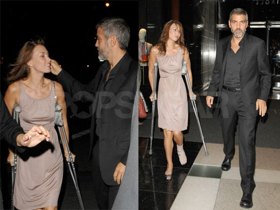 George Clooney Handles Sarah With Care (Now)