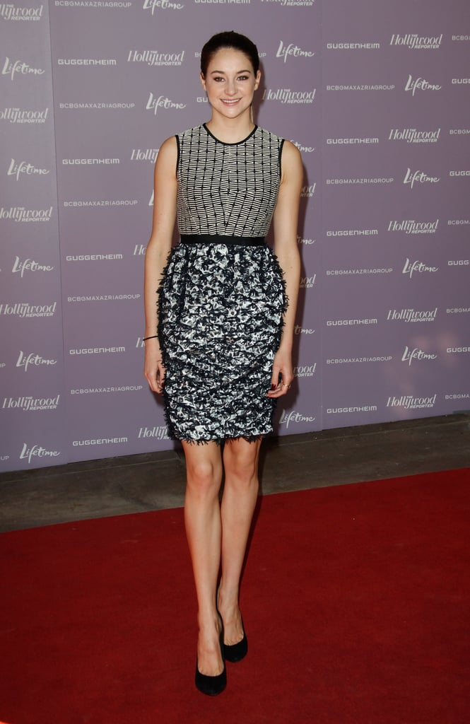 Shailene Woodley in Prabal Gurung at a 2011 Hollywood Reporter Breakfast