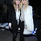 On Saturday night, Olivia made a front-row appearance — and nearly coordinated with Rachel Zoe — at Altuzarra's Fall show.