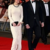 Will and Kate Learn About Mandela's Death at Premiere