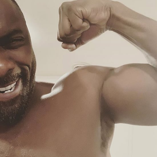 Idris Elba Shirtless Instagram Photo November 2018