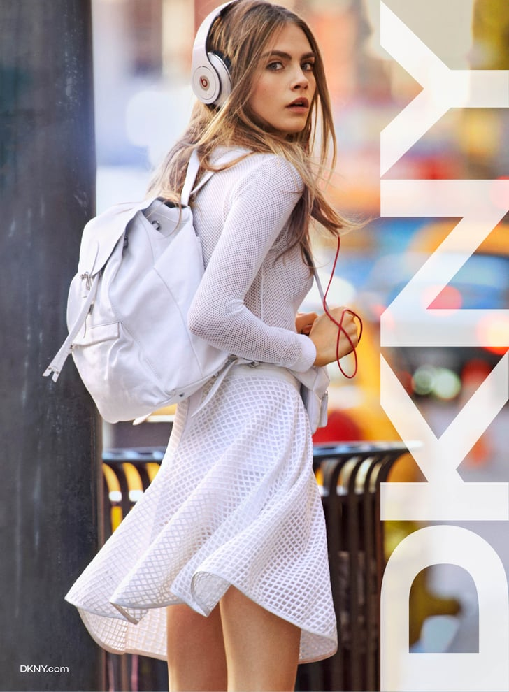 Cara Delevingne DKNY Campaign Pictures