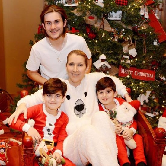 Celine Dion's Family Christmas Photos From 2016
