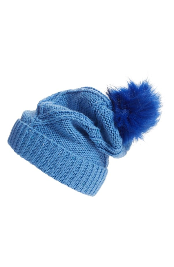 Wildfox Couture Cable Knit Pompom Beanie ($68)