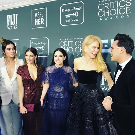 Watch Nicole Kidman Meet the Cast of Schitt's Creek