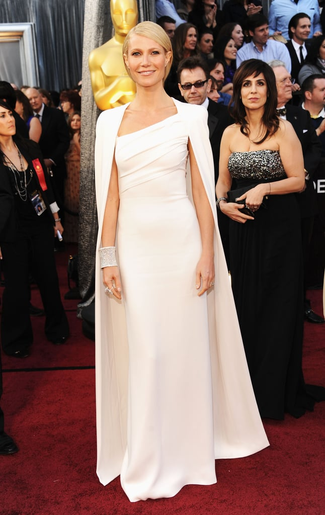 Gwyneth Paltrow wore a cape to the Oscars.