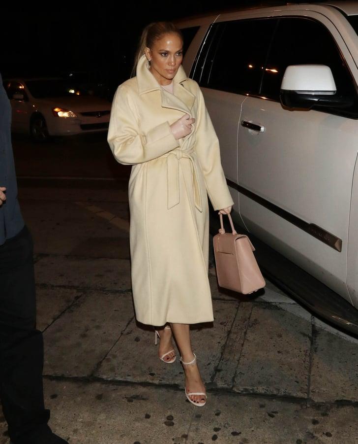 Jennifer Lopez Wearing Leather Gloves Popsugar Fashion