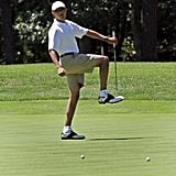 """Show 'Em How It's Done"" Barack"