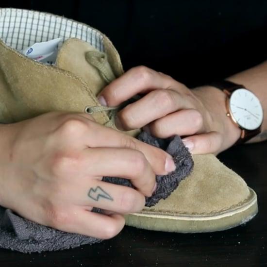 كيفية تنظيف الأحذية المصنوعة من جلد السويدي