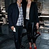 Mario Sorrenti and Amber Valletta