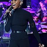 Cynthia Erivo at Clive Davis's 2020 Pre-Grammy Gala in LA