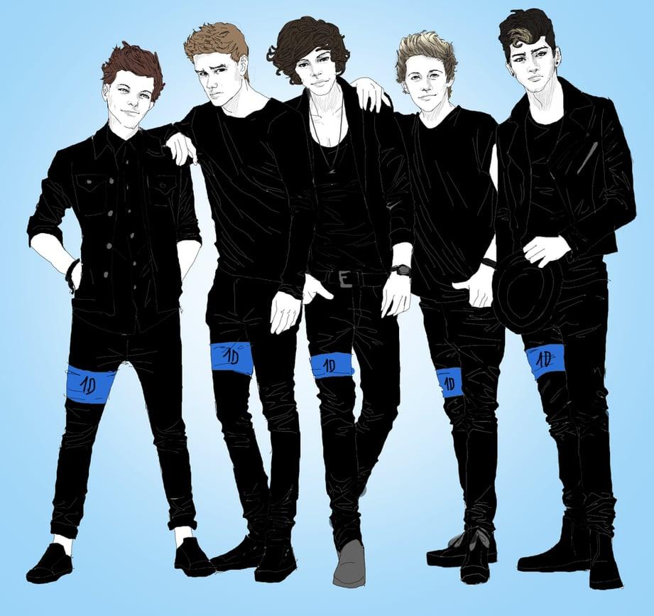 Payne Auto Group >> One Direction Fan Art | POPSUGAR Love & Sex Photo 8