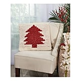 Mina Victory Loop Christmas Tree Throw Pillow
