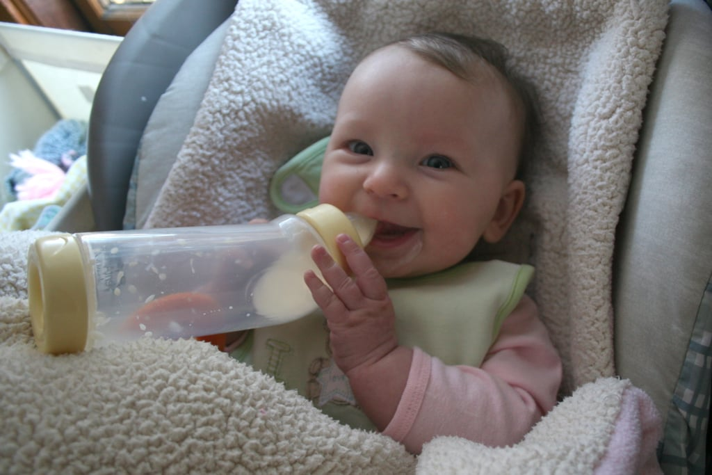 Babies are hungry all the time.