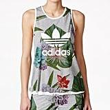 Adidas Floral-Print Tank Top