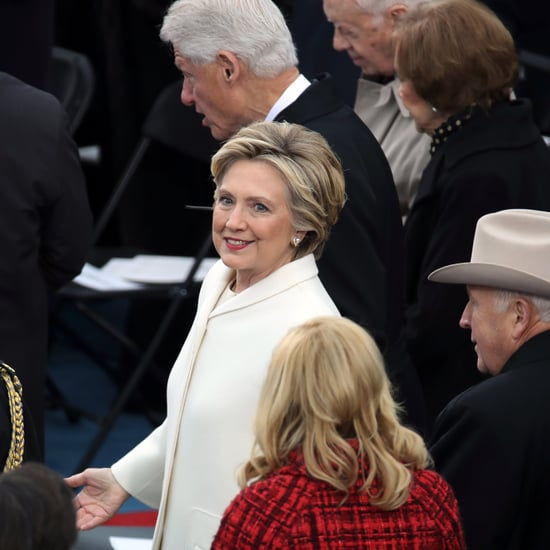 Donald Trump Praises Hillary Clinton at Inaugural Lunch
