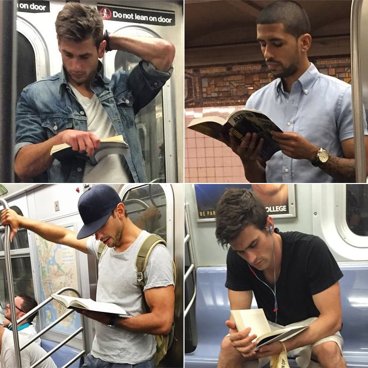 Hot Guys Reading Instagram