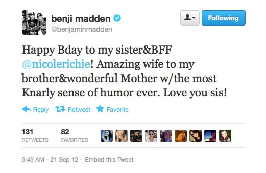 Thanks to Benji, we officially want to be part of the Madden family.