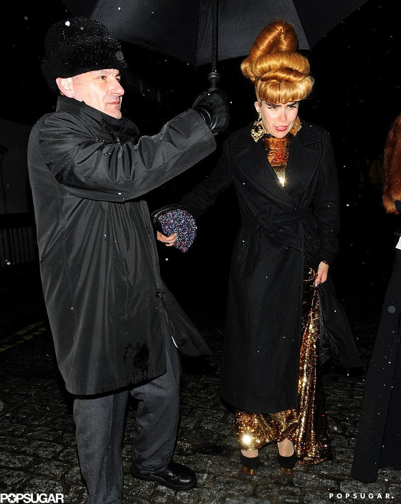 Paloma Faith arrived at a BAFTA Awards afterparty in London.
