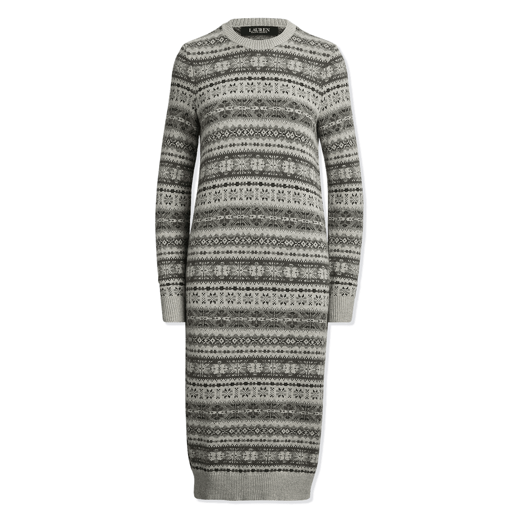 Lauren Ralph Lauren Knit Jacquard Dress