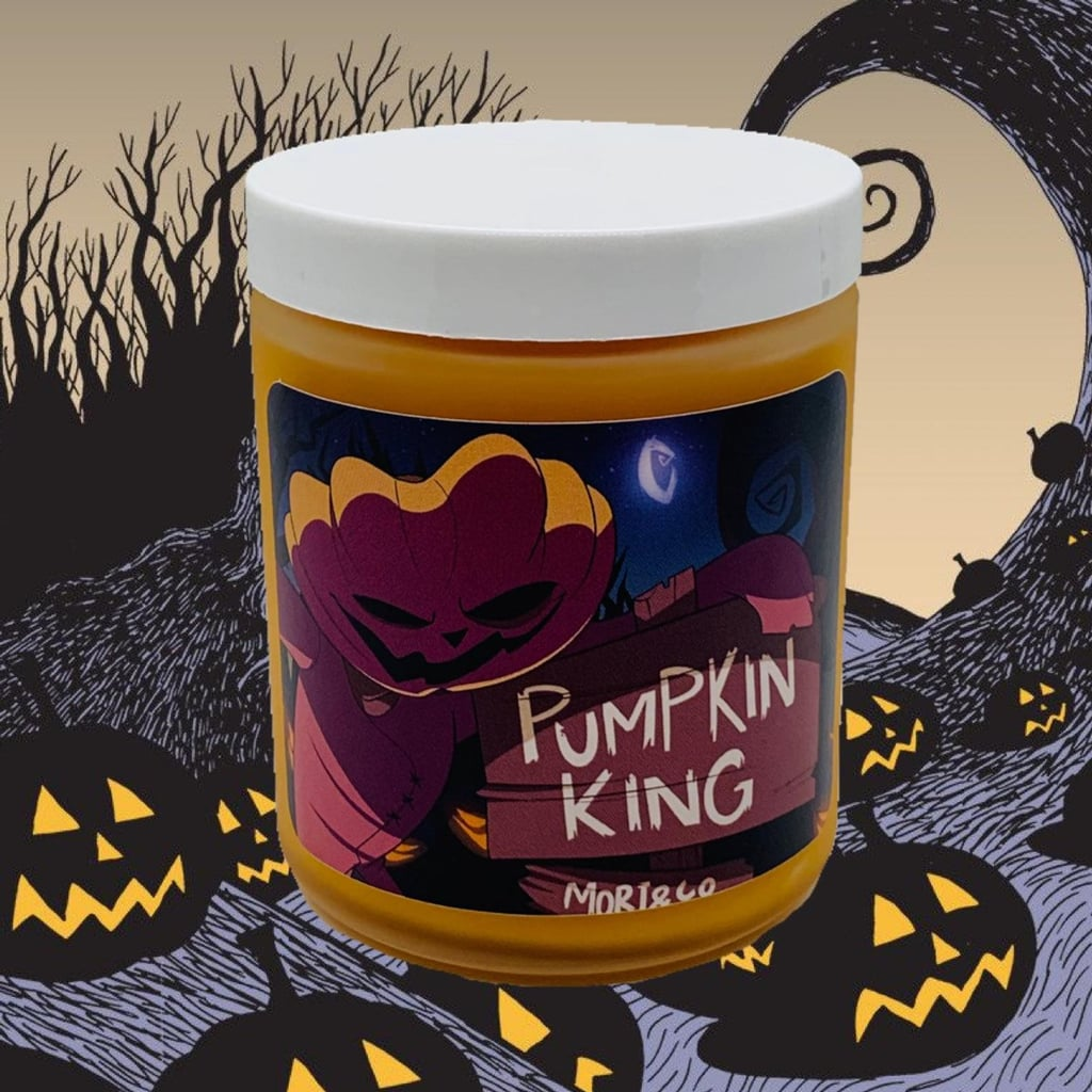 Pumpkin King Disney Candle