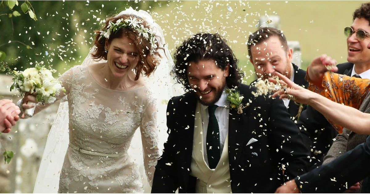 Almost All of Westeros Showed Up to Celebrate Kit Harington and Rose Leslie's Wedding