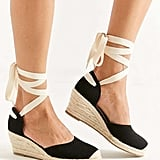 UO Espadrille Lace-Up Wedge