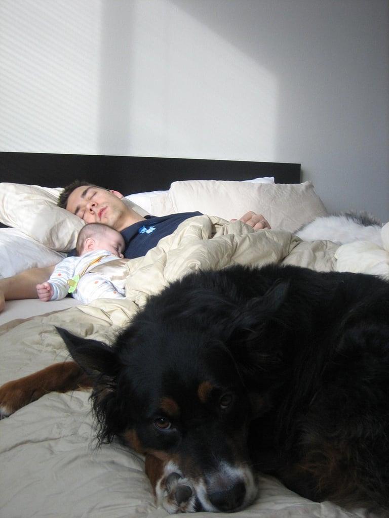 رغم أنّهم نادراً ما ينامون في أسرّتهم.