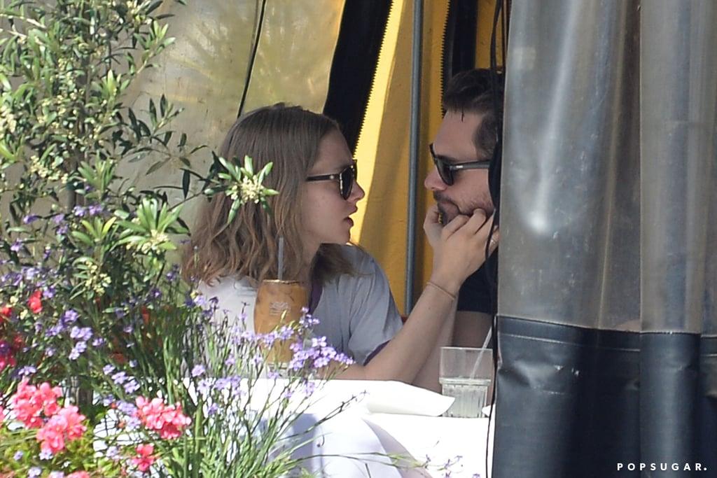 Amanda Seyfried and Thomas Sadoski Kissing March 2016