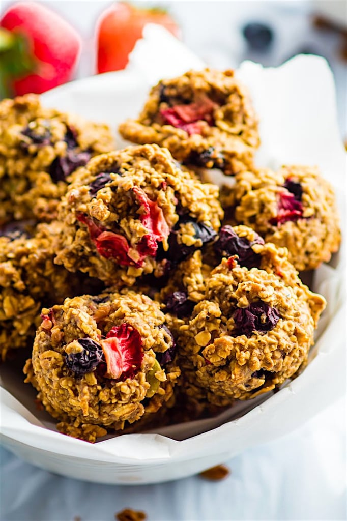 Berry Oatmeal Breakfast Cookies