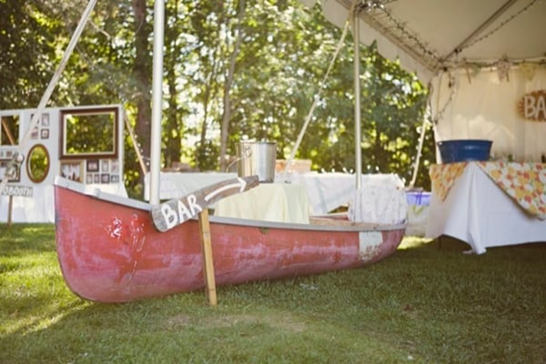 Canoe Decor